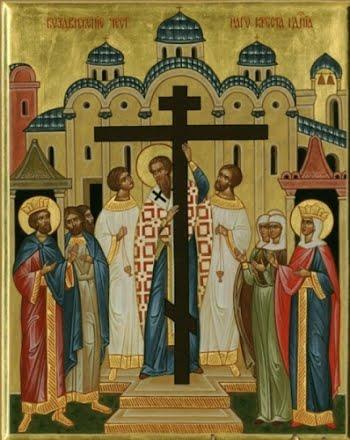 Иконы и крест