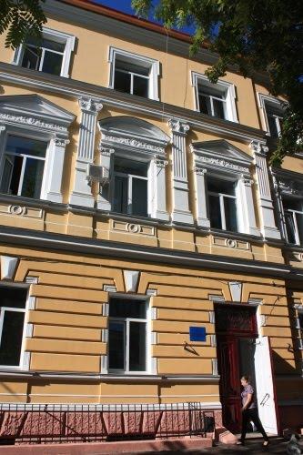 Парадный фасад Одессы