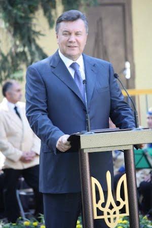 Президент Украины Виктор Янукович: