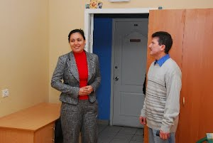 Социальное общежитие приняло первых жильцов