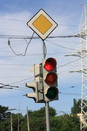Одесса – второй город в Украине по количеству светофоров