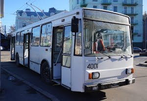 Первые чешские троллейбусы заколесили по улицам Одессы