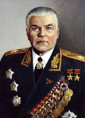 прославленный Маршал с легендарной Молдаванки